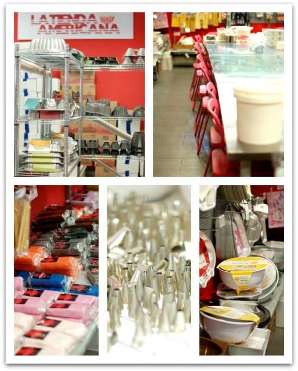 La Tienda americana, muchos moldes y cursos de decoración de tartas