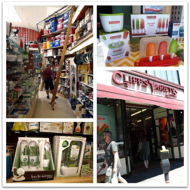 Cliff's Variety, tienda de menaje en San Francisco. EEUU