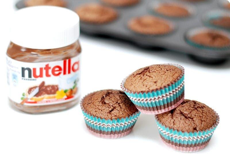 Magdalenas De Nutella Sin Gluten Impresionantes