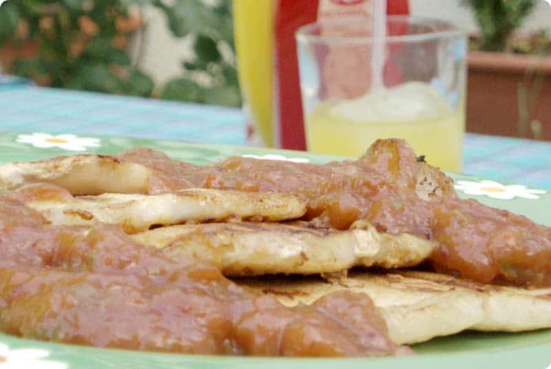 Salsa para carnes a la parrilla 'Yin-Yang'