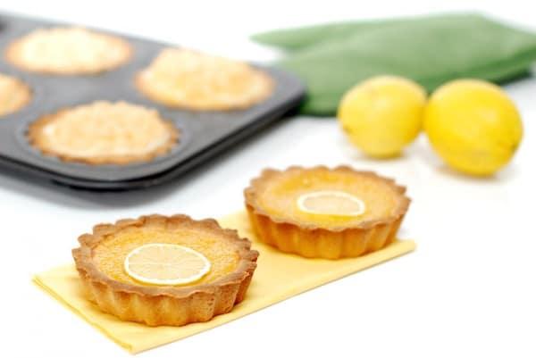 Tartaletas de lemon curd con Thermomix