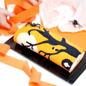 Brazo de gitano decorado para Halloween