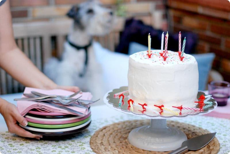 La tarta que hemos preparado para el cumple de Javi con nuestra Thermomix