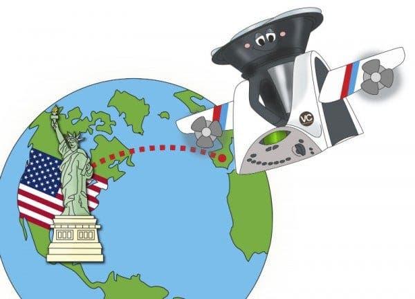 Thermomix Viajera, volamos a EEUU