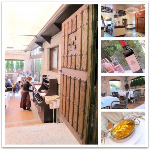"""Mi restaurante favorito se llama """"La Rueda"""" y está en El Escorial."""