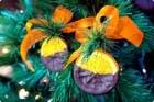 Naranjas confitadas de chocolate para Navidad