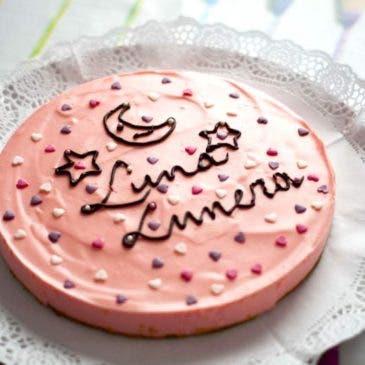 """Tarta de piruletas """"Luna Lunera"""""""