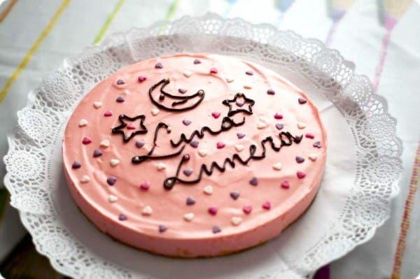 "Tarta de piruletas ""Luna Lunera"" con Thermomix"