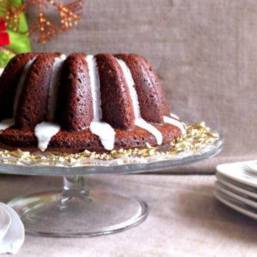 Bunt Cake de vino especiado de Navidad