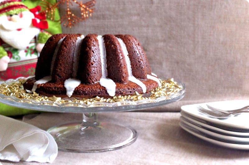 Bunt cake de vino especiado para Navidad con Thermomix
