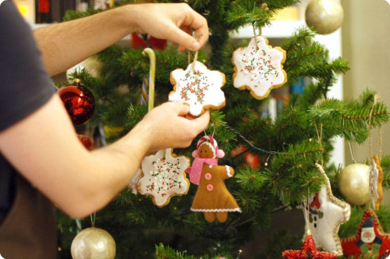 Galletas para tu árbol de navidad