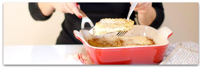 Así de deliciosa va a quedar tu Croque Monsier al horno