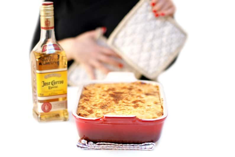 Deliciosa lasaña mexicana con un toque de Tequila con Thermomix®