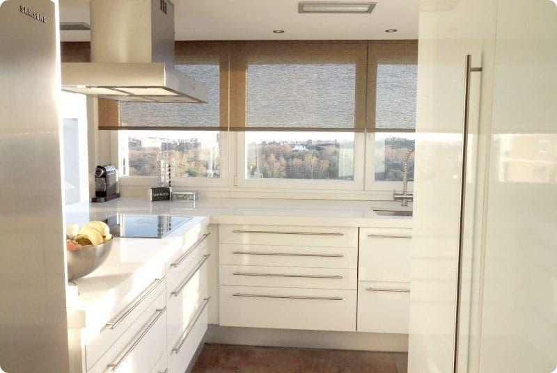 Nuestras cocinas aprovechando una terraza for Cocinas super modernas
