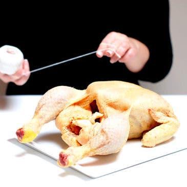 Cómo atar un pollo para que quede perfecto