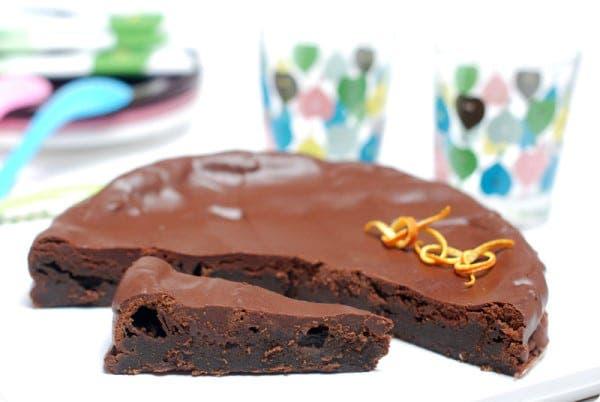 Tarta fondant de chocolate