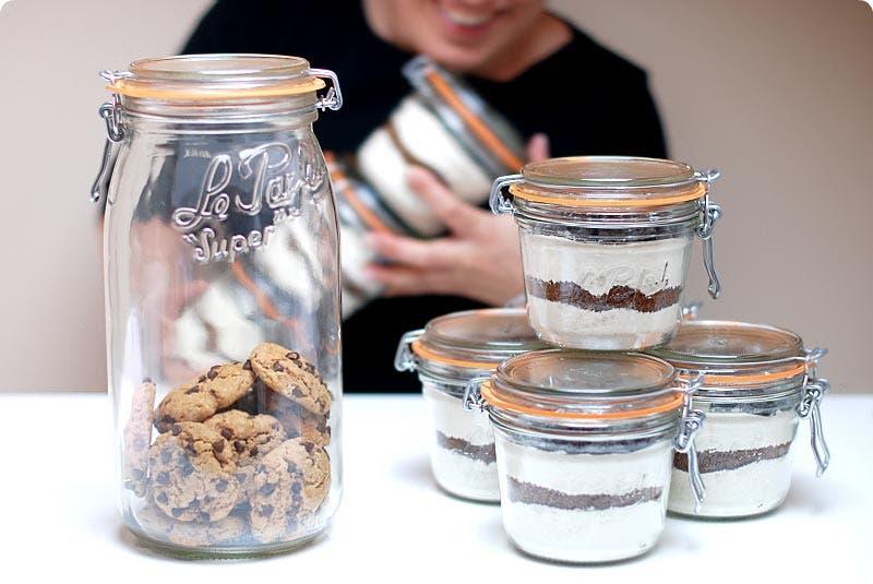 Botes de galletas para regalar