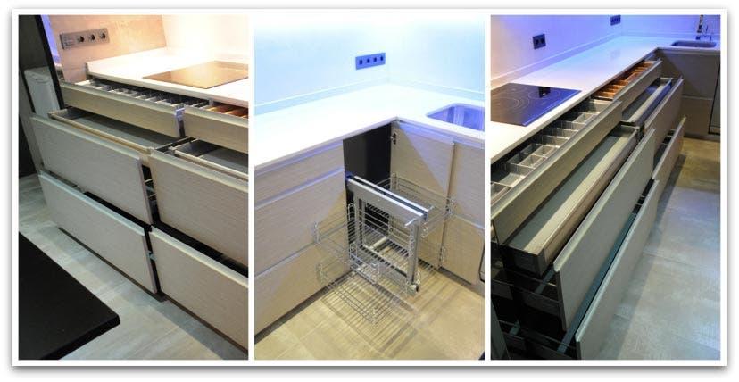 Nuestras cocinas orden y sencillez con buen gusto - Modulos para muebles de cocina ...