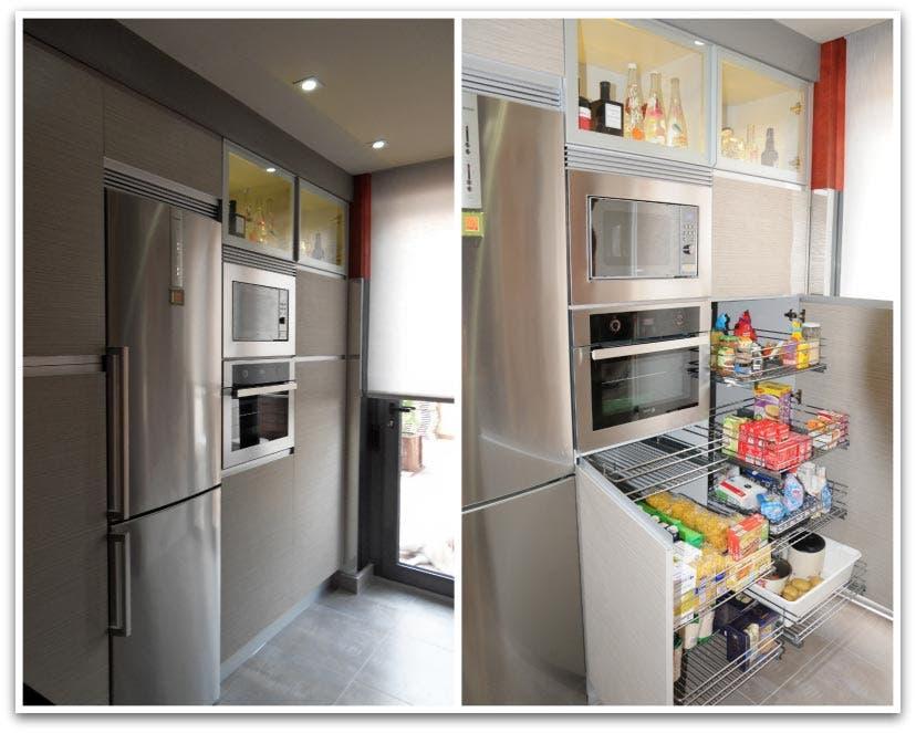 Lujo Pararse Zona De Tv Para La Cocina Ilustración - Ideas de ...