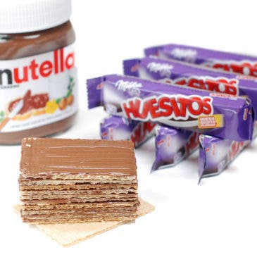 Huesitos de Nutella