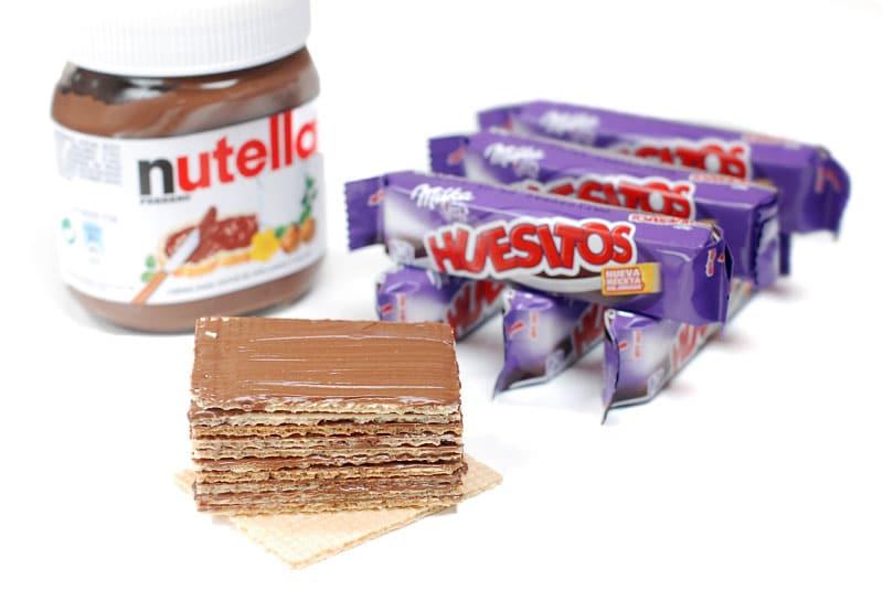 Huesitos de Nutella