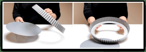 Molde quiche o tartas desmoldable