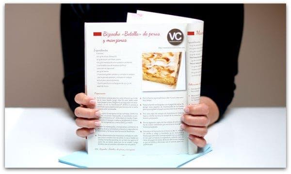 """Nuestra receta en """"Postres de Rechupete"""""""