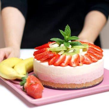 Tarta helada de frutas con Thermomix