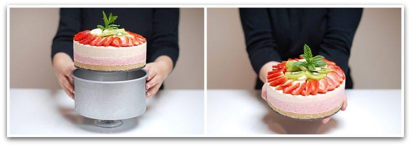Tarta helada con frutas paso 5