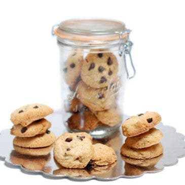 "Galletas ""Chocolate chip cookies"""