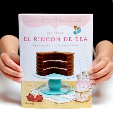 """""""El rincón de Bea"""", su primer libro de repostería"""