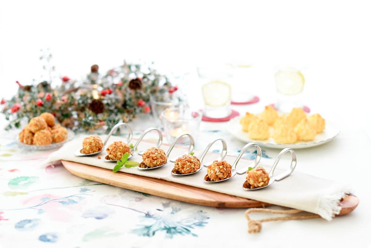 Bolas de queso y frutos secos con miel sin Thermomix aeb3bb72d027a
