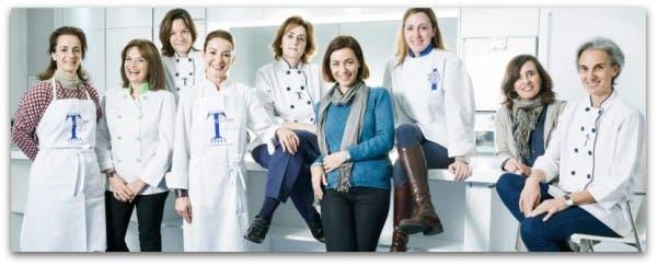 Escuela cocina Telva, el equipo