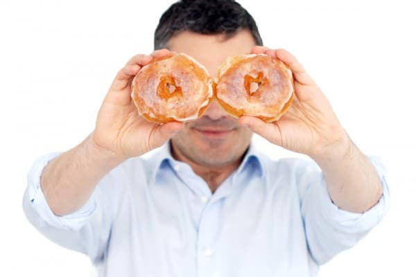 Donuts caseros con glasa