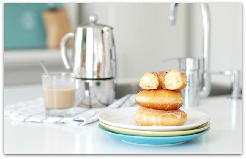 Donuts caseros por dentro