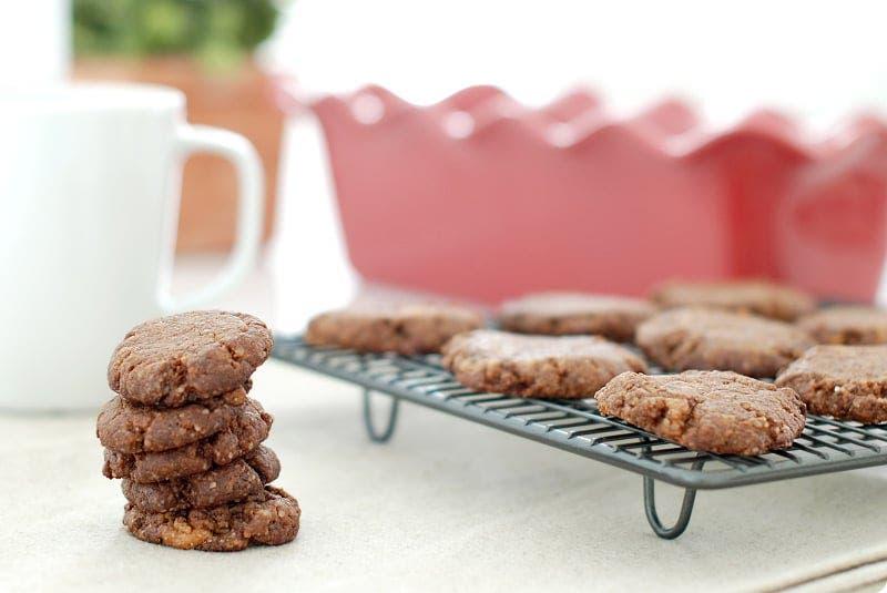 Galletas de chocolate fondant, para peques