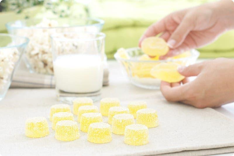 Gominolas de limón