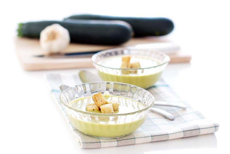 Crema de calabacín con Thermomix®