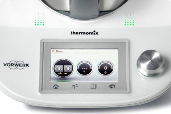 Pantalla táctil de la Nueva Thermomix 2014