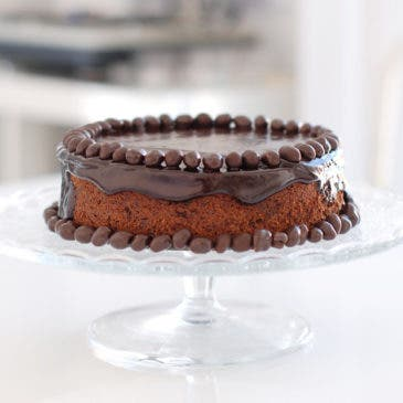 Tarta de chocolate ¡Feliz aniversario!