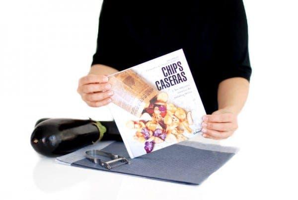 """Un libro que te hará cambiar cada día de guarnición """"Chips caseras"""""""