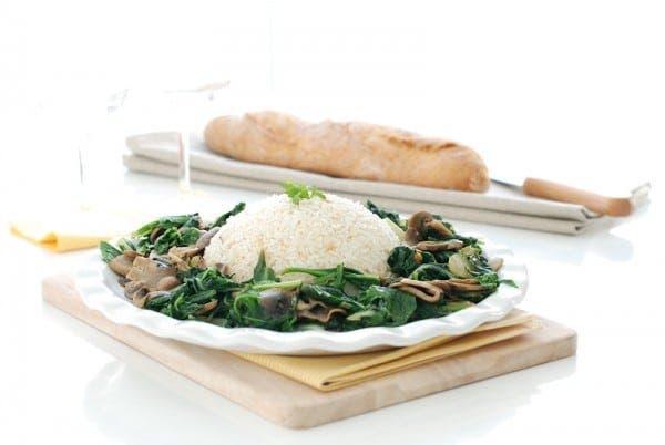 Arroz Pilaf con verduras