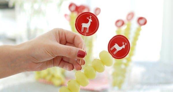 Banderillas para uvas de la suerte
