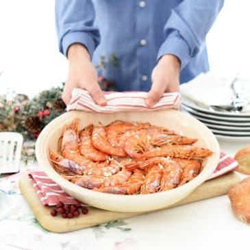 Gambones al horno, una receta realmente fácil