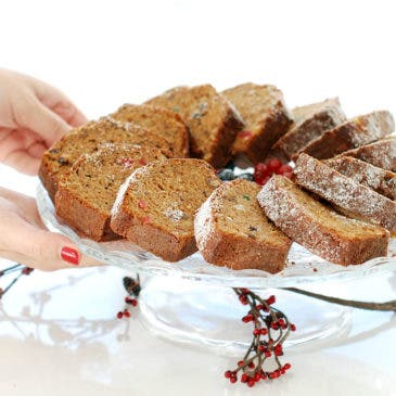 Plumcake de Navidad