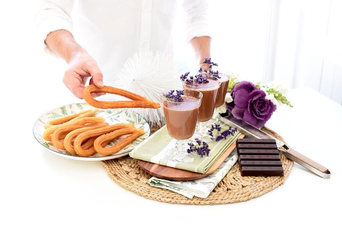 Chocolate a la taza con Thermomix®