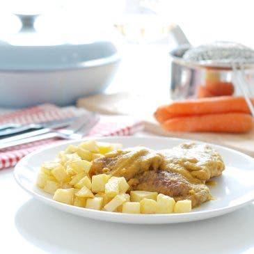 Filetes de ternera en salsa