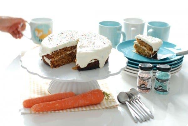 Carrot cake o tarta de zanahoria en Thermomix®