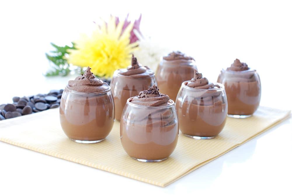 Cuajada de chocolate
