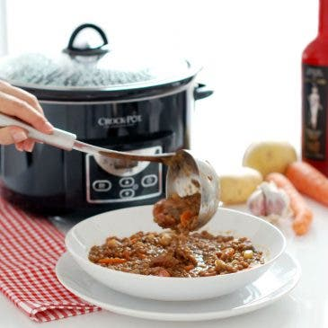 Lentejas en Crock-Pot®